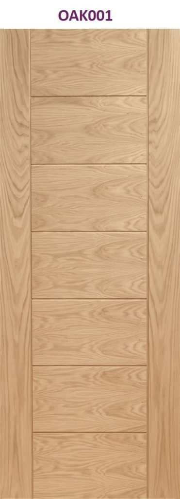 Oak palmero internal door | Design led internal doors manchester
