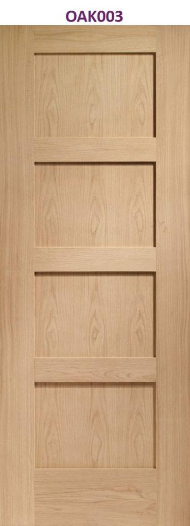 oak finished internal door | Design led internal doors manchester