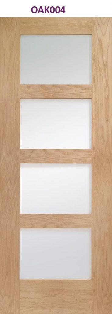 Oak internal door Manchester | Design led internal doors altrincham