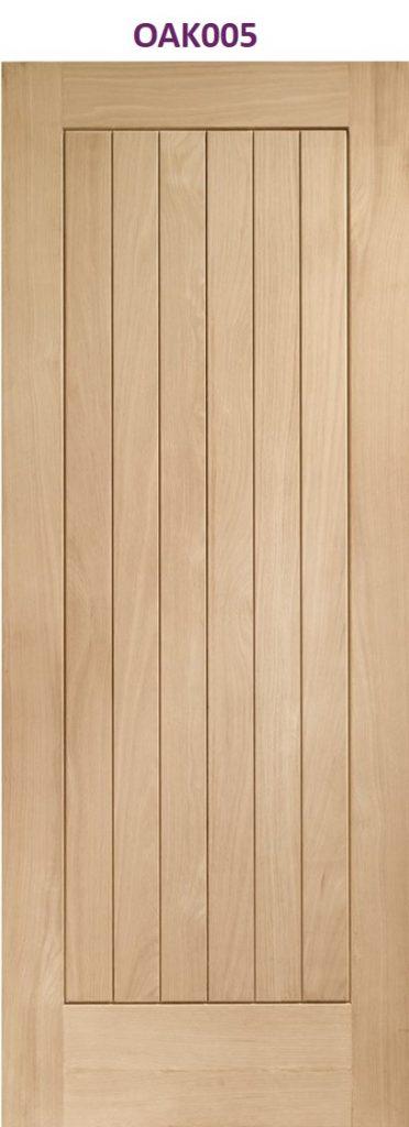 Oak Suffolk internal door manchester | Design led internal doors North West